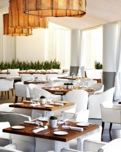 Bianca restaurant serves a menu of local and organic ingredients. #Jetsetter