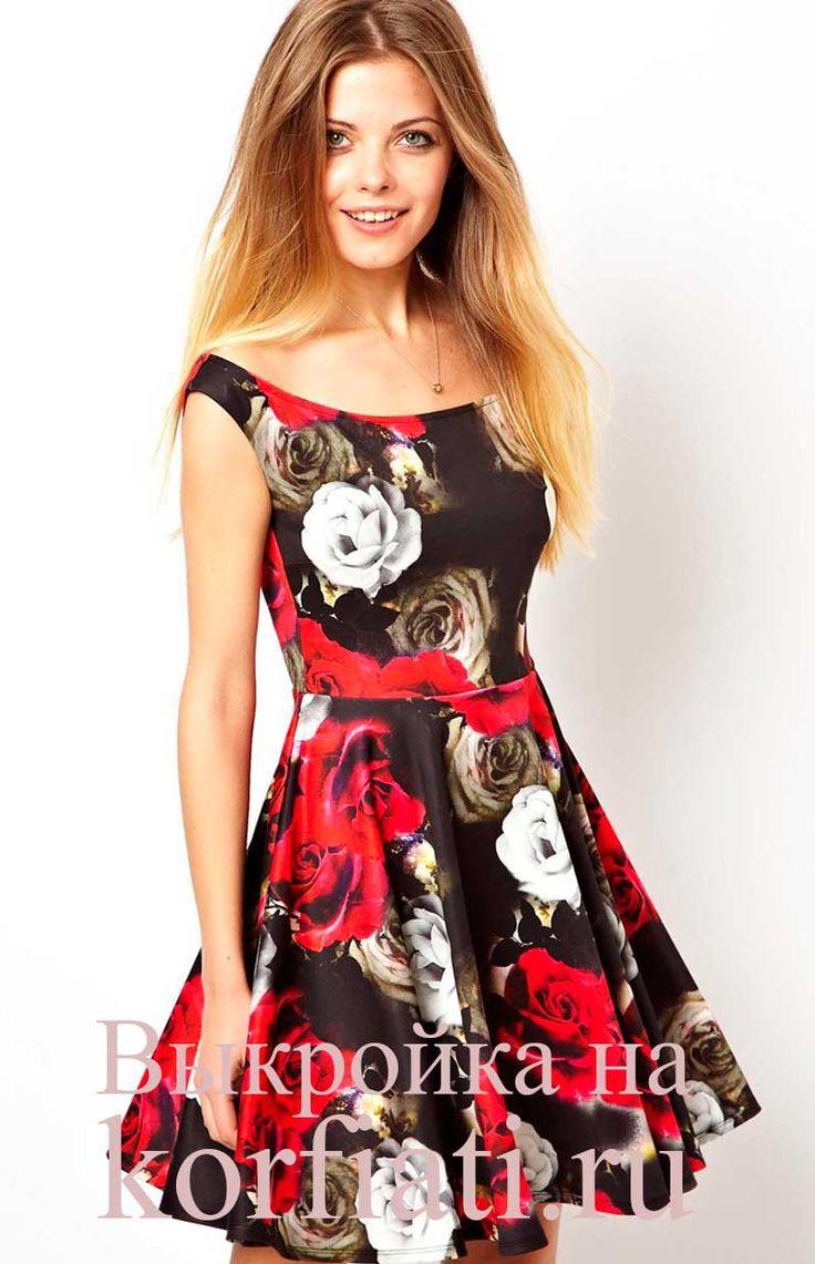 Платье без рукавов - детали