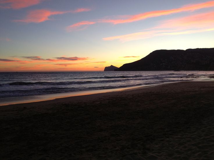 Sunset On Arenal Beach Calpe