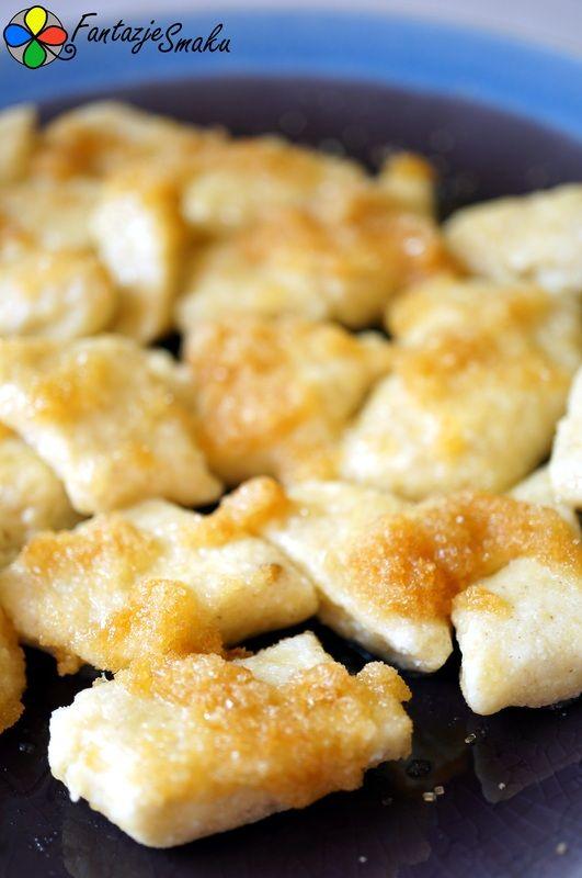 Pierogi leniwe z kaszy jaglanej i sera białego