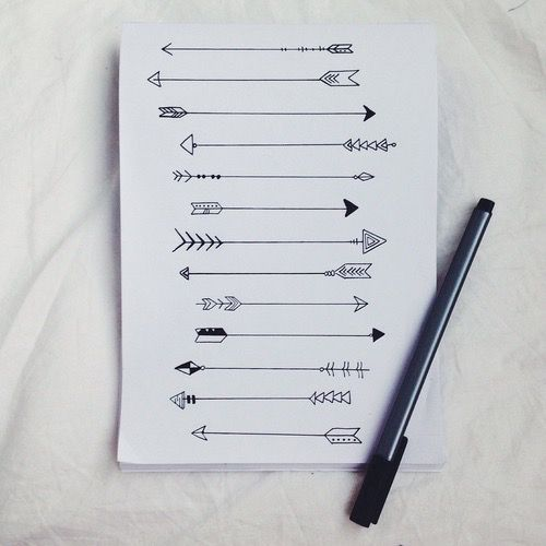 #arrow #drawing #art #tatuagem #desenhosdetatuagens #desenhotatuagem #tattoo #doodle #flecha