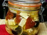 Nakládaný balkánský sýr recept