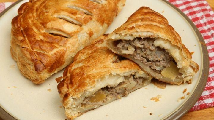Traditional Cornish pasties