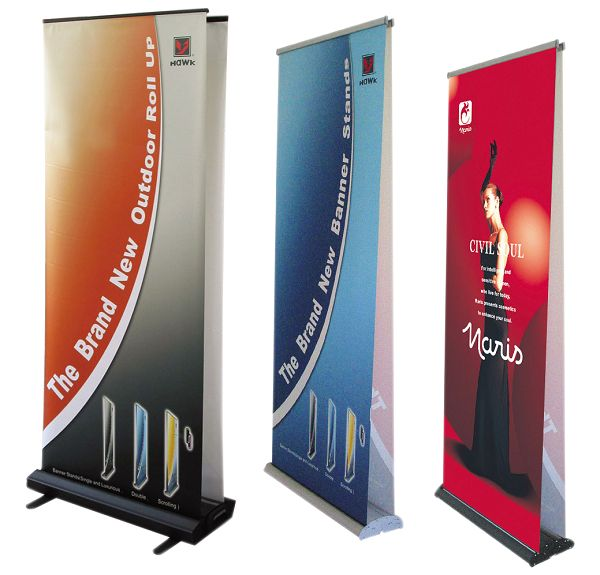 Double sided Pull up banner stands are ideal for exhibitions and events. Here are the things that one should understand and know about Pull up banners, before buying them: