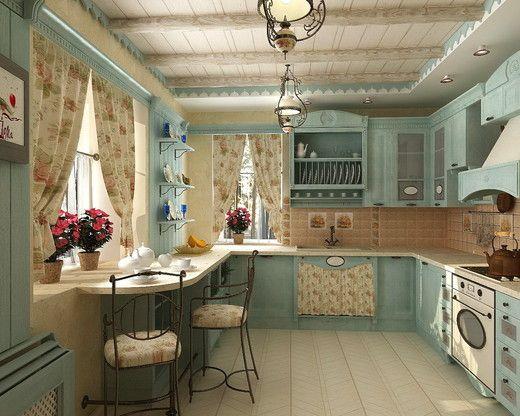 Дизайн интерьера коттеджа в стиле Прованс — Интерьеры квартир ...