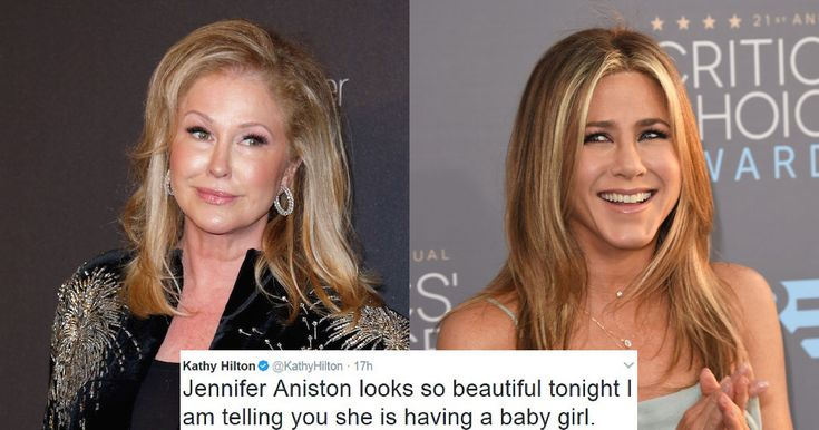 Kathy Hilton Says She Regrets Her Tweet About Jennifer Aniston's Pregnancy! #JenniferAniston, #KathyHilton, #Pregnancy celebrityinsider.org #Hollywood #celebrityinsider #celebrities #celebrity #rumors #gossip