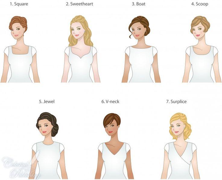types of necklines for modest wedding dresses, WeddingLDS.com signature brides