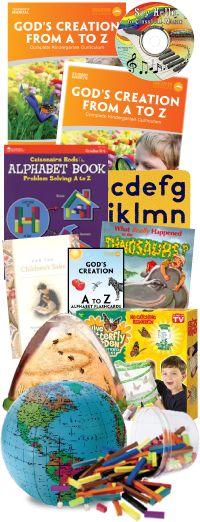My Father's World Homeschool Curriculum - Kindergarten