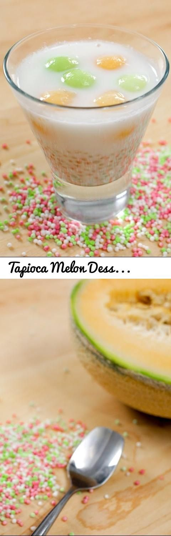 Tapioca Melon Dessert Soup Recipe สาคูแคนตาลูป - Hot Thai Kitchen... Tags: Hot Thai Kitchen, Pailin, Pai, Chongchitnant, Cooking, food, Thai food, Thai cuisine, Thailand, Thai cooking, recipes, demonstration, cooking show, educational, recipe, อาหารไทย, สตรอาหาร, สตรอาหาร