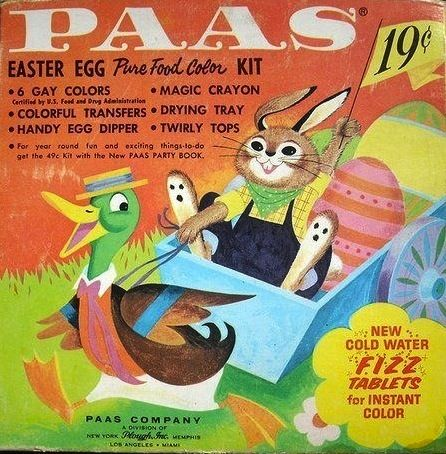 15 best Vintage PAAS Egg Decorating Kits #TBT images on Pinterest ...