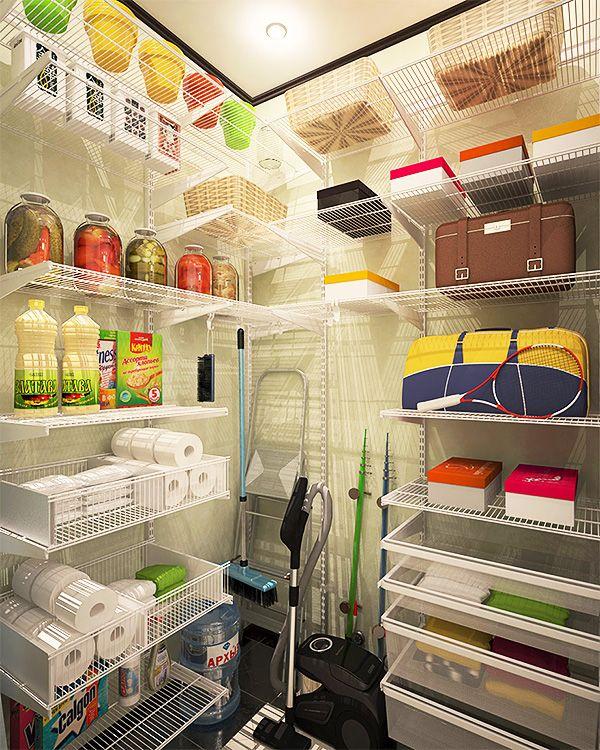Дизайн кладовки в квартире (15 фото): разные варинты планировок