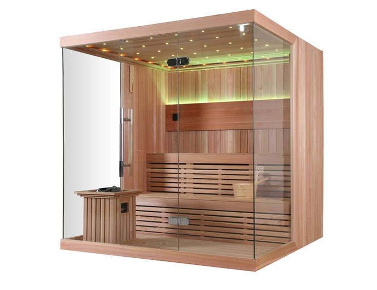Monalisa M-6042 couple dry sauna room European style sauna enclosure for 2 adults sauna house Dimension  2000*1500*2000mm 2000*1800*2000mm 2000*2000*2000mm