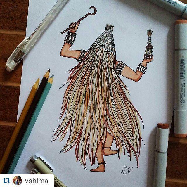 #Repost artwork karya @vshima by kelasgambar