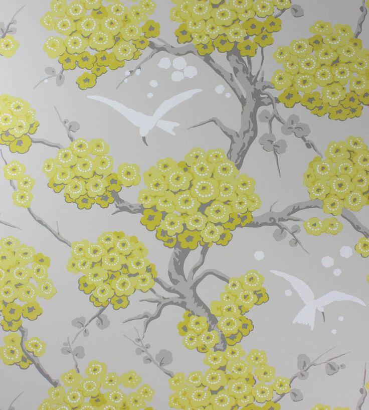 Osborne and Little Wallpaper Online   Japonerie Wallpaper by Osborne & Little   Jane Clayton