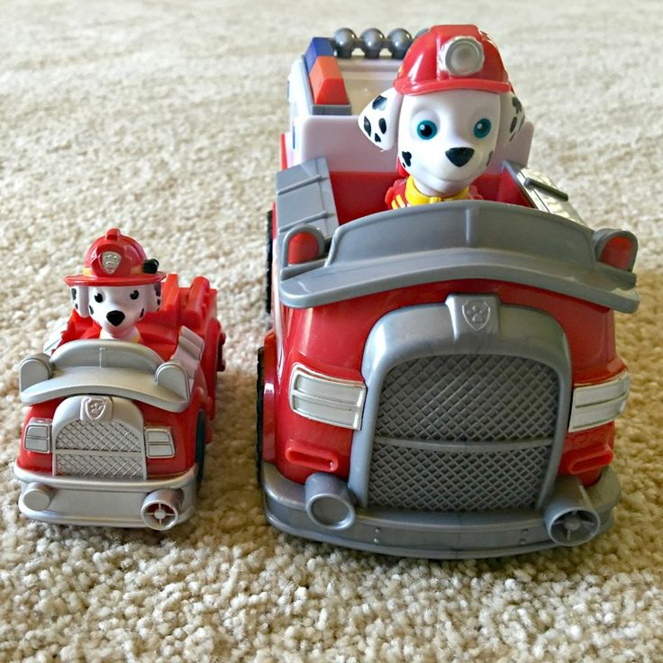 Paw Patrol Marshall Toys