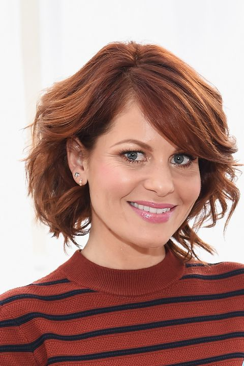 Hairstyles For Women Over 50 Candace Cameron Bure's Wavy ...
