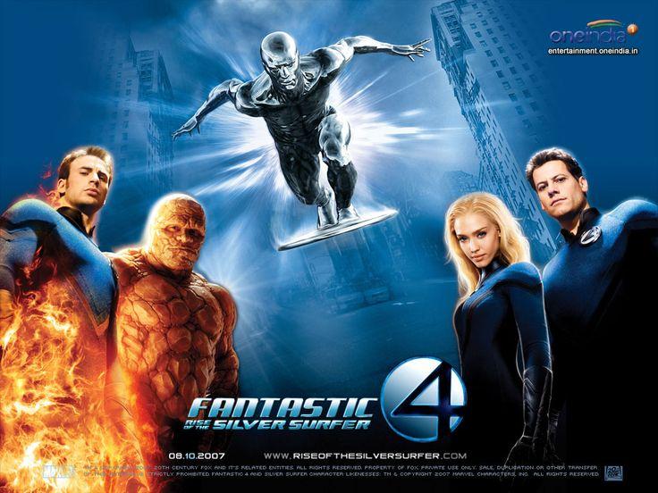 """Fantastic Four - Rise of the Silver Surfer (2007) """"Quarteto Fantástico e o Surfista Prateado"""""""