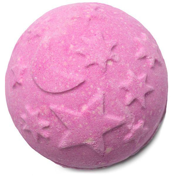 Pink and purple twilight bathbomb