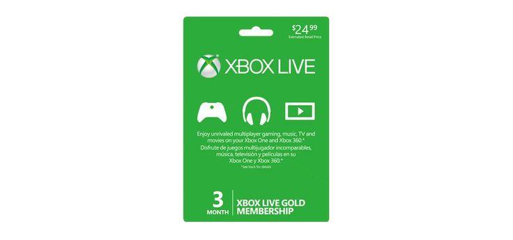 3 Month Gold Membership Xbox Live CD-Key Global