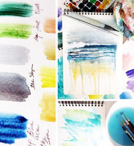 Alisa Burke — you, me and the sea art retreat fall 2013