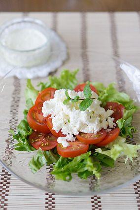 焼きヨーグルトのサラダ|レシピブログ