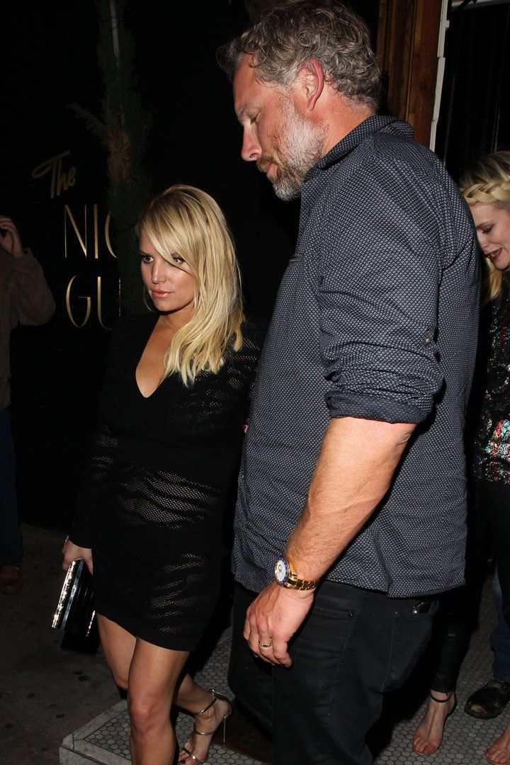 Jessica Simpson Keeps Things Sexy For a Night Out With Eric Johnson