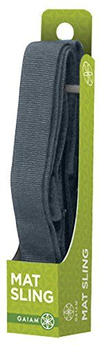 Amazon.com : Gaiam Yoga Mat Sling (Sold Individually with Assorted Colors) : Yoga Mat Bags : Sports & Outdoors