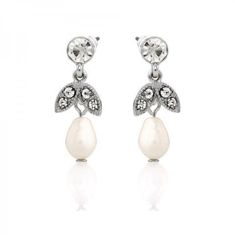 Lula Short Pearl Drop Earrings