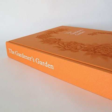 the gardener's garden by phaidon available at www.garden-objects.com #gardenobjects #books #thegardenersgarden #orange #phaidon #details