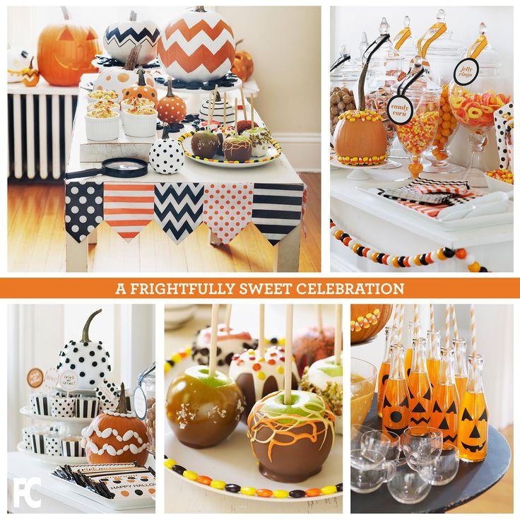 A Frightfully Sweet Celebration #halloween #pumpkin #fall