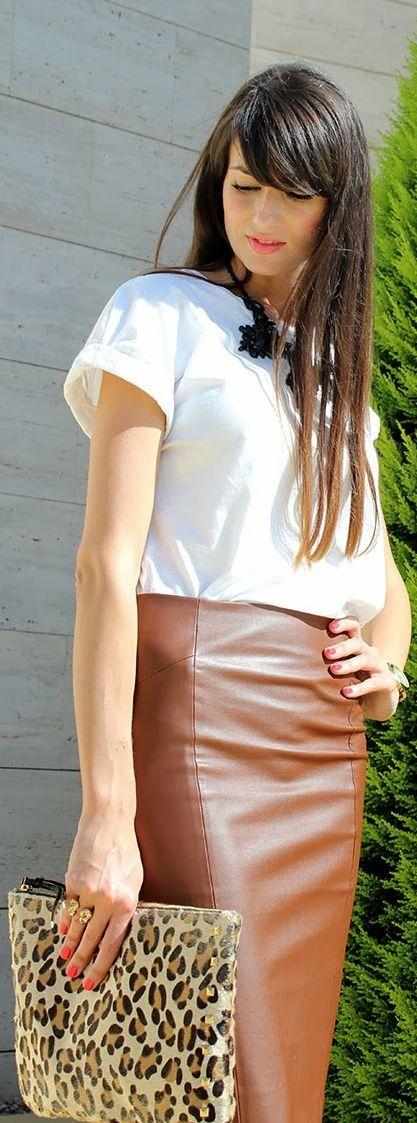 #pencil #skirt by Angeles y Diablillos