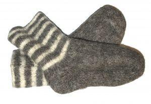 Wool Socks treatment for COLDS/FLU