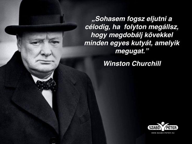 Winston Churchill #idézet | A kép forrása: Péter Szabó