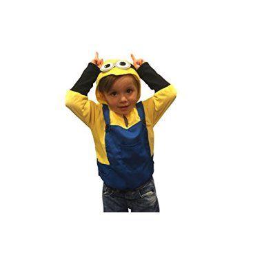 Need buy Halloween Costumes Kids Minion Costume Boys Sweatshirt Halloween Costume (2-4yr) for  Halloween Gifts Idea Store for #Halloween Gifts Idea