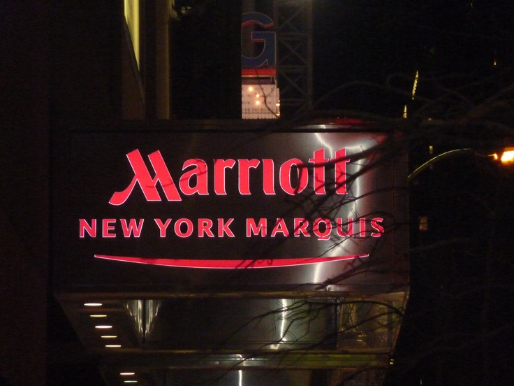 The Marriott Marquis in New York 7-12 April 2012. Attended Brendon Burchard event 10xEmpire. Online Marketing & Business event