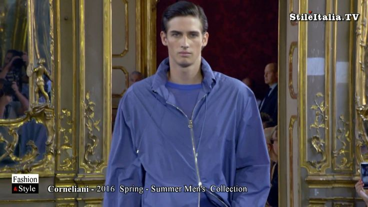 """Italian fashion"" - ""Corneliani"" - ""2016 Spring Summer"" - ""Italian Man"""