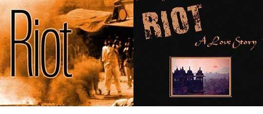 Riot  by Shashi Tharoor ' Riot ' by Shashi Tharoor