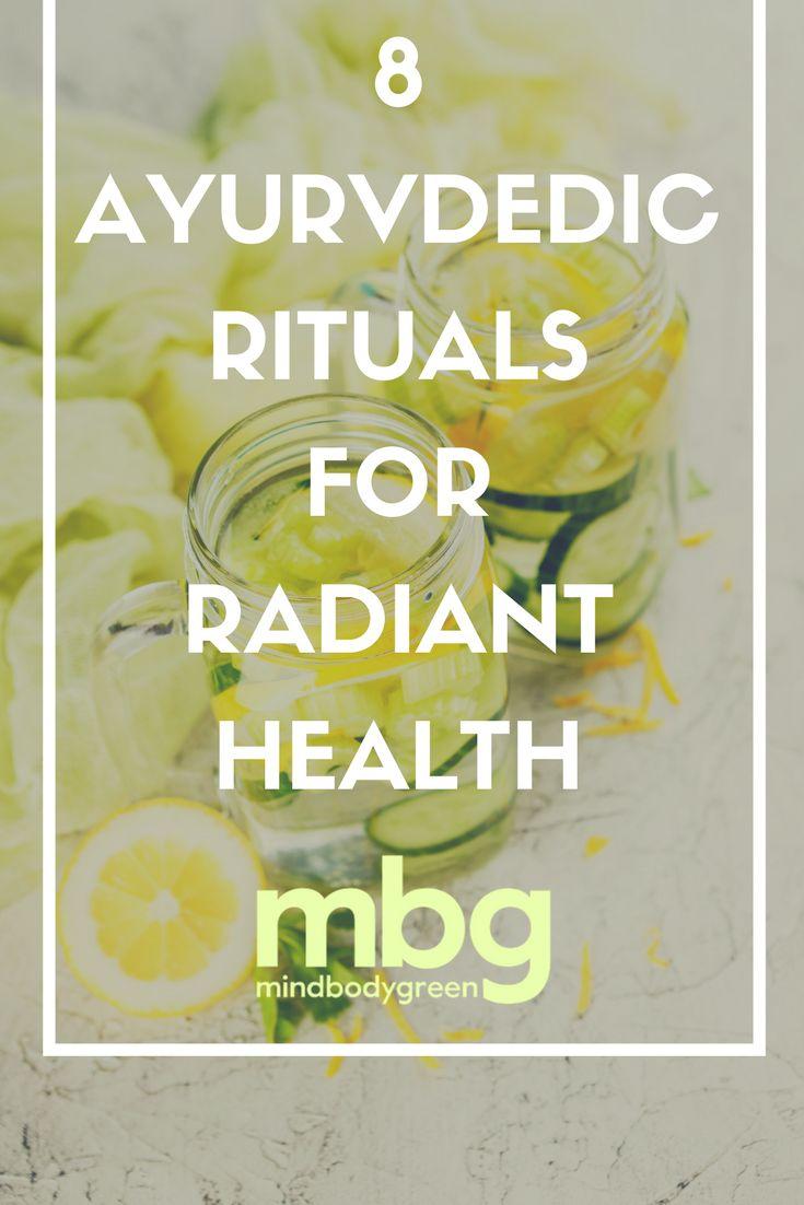 8 Ayurvedic Self-Care Rituals That Promote Radiant Health :: Mind Body Green :: by Acharya Shunya, author of AYURVEDA LIFESTYLE WISDOM #ayurveda #beauty #selfcare #routine #recipe #book #health