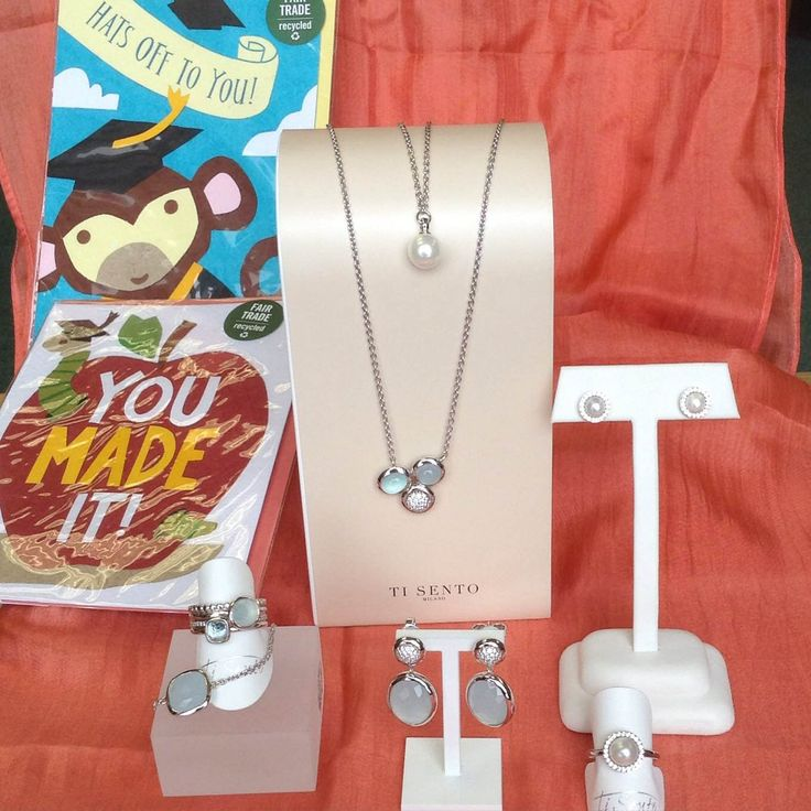 Congratulations class of 2015!!! Mark their milestone with a fabulous selection of earrings, pendants, bracelets and rings from Ti Sento - starting at $59!!! Available at ASHLEY'S Distinctive Jewelry and Gifts 555 Day Hill Road 860-298-9542  #congratulations #classof2015 #tisento #necklaces #earrings #rings #bracelets #ASHLEYS #ASHLEYSjewelers #AshleysDistinctiveJewelryandGifts #jewelry #fashion #gifts