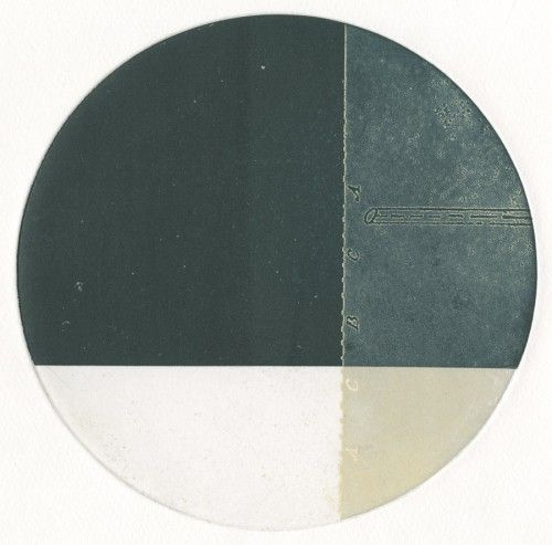 Rebecca Gouldson | Body Parts 4, 2 plate colour etching