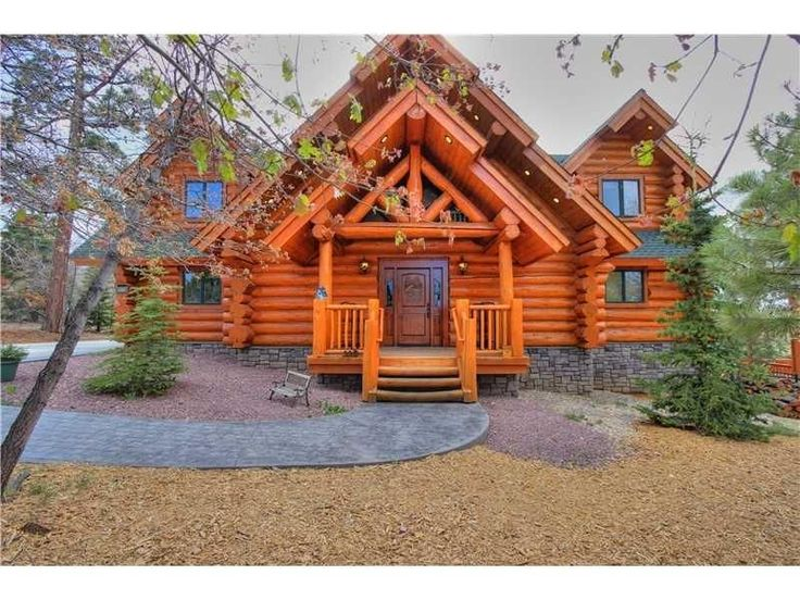 The romantic cottage nestled in the woods by big bear for Romantic big bear cabins