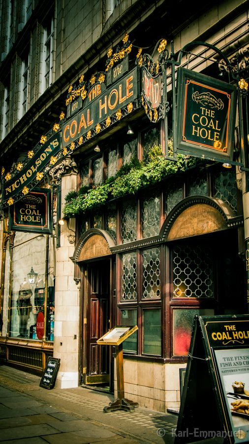 You'll stumble across The Coal Hole in Strand if you take a short stroll from Charing Cross.