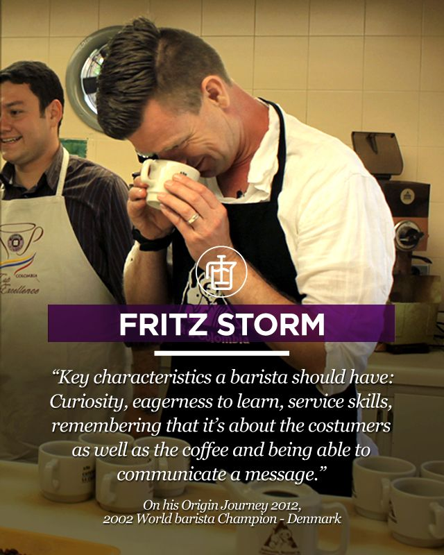 Frtiz Storm, member of our Board of Coffee Fame! Go to www.colombiancoffeehub.com for more original origin content.