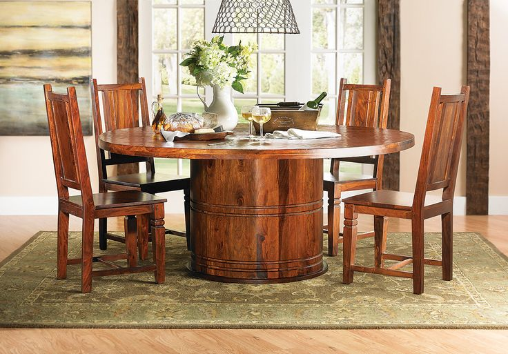 The dump furniture logan round dining table furniture for The dump furniture