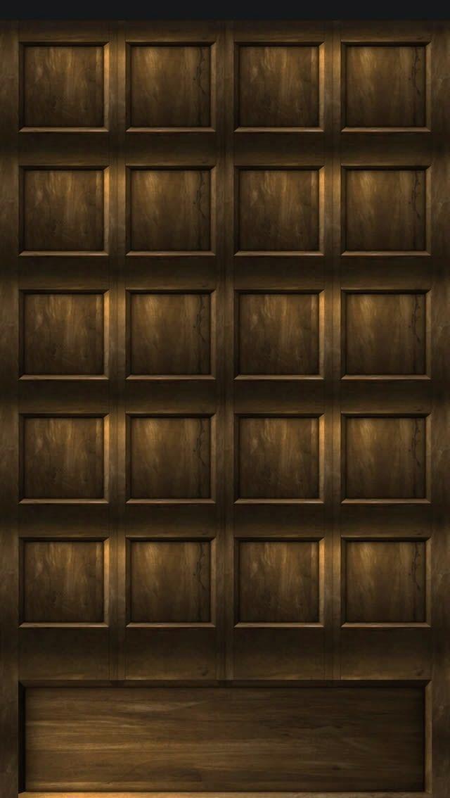 IPhone 5 Wallpaper Shelves Dark