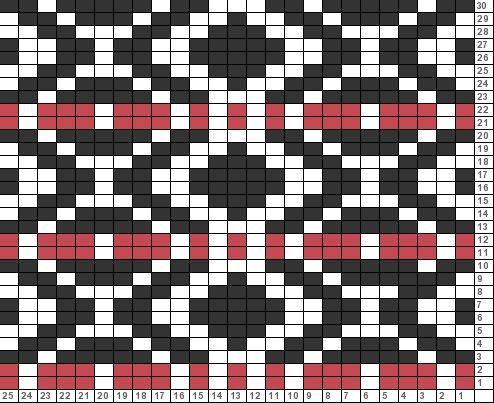 28 best mock fair isle patterns images on Pinterest   Knitting ...
