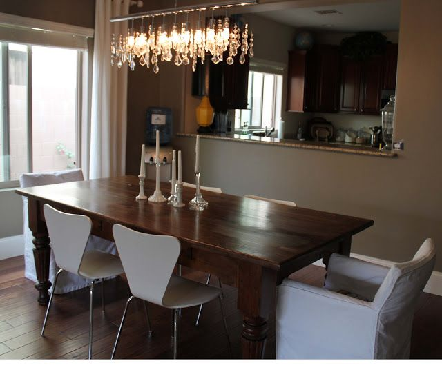 Craigslist dining table...before & after.   Great DIY refinishing. So easy and quick! #DIYready