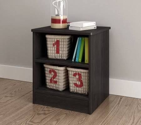 Attractive Gray Oak Nightstand South Shore Ideas