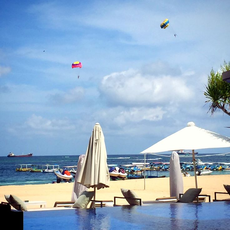 Tanjung benoa the place for water sports.and many restaurants here.