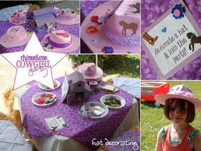 Rhinestone Cowgirl Party
